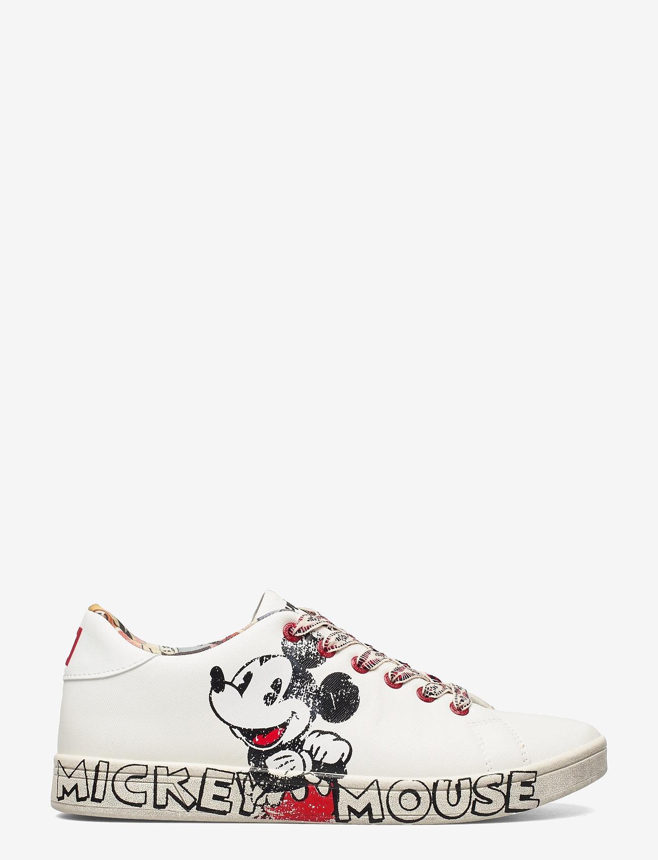 Desigual Shoes - SHOES COSMIC MICKEY - låga sneakers - blanco - 1
