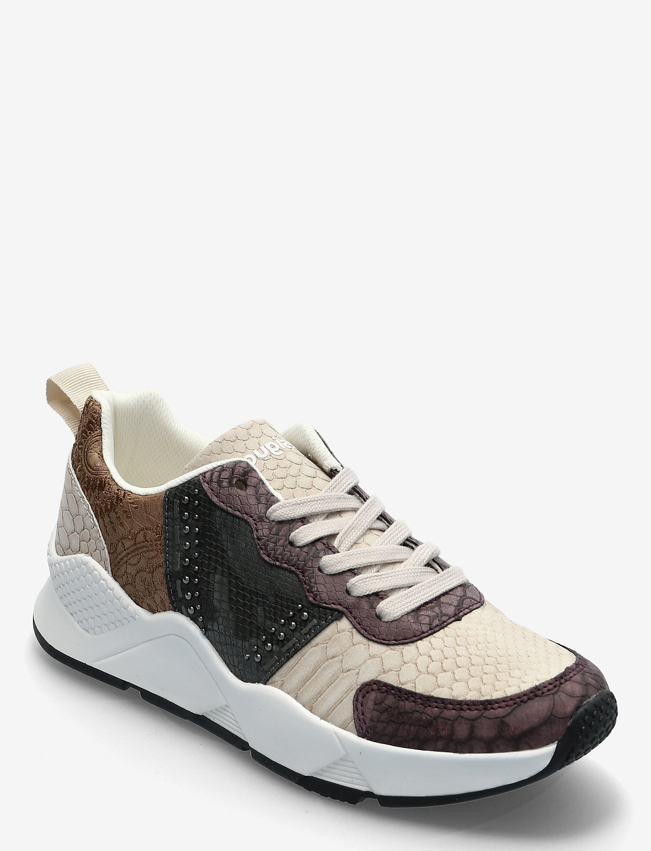 Desigual Shoes - SHOES HYDRA PACH - låga sneakers - brown stone - 0
