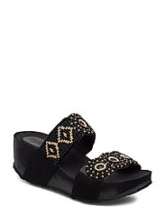 SHOES CYCLE BEADS BN - NEGRO