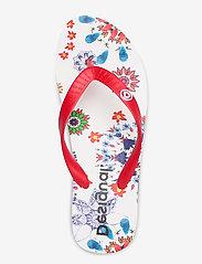 Desigual Shoes - SHOES LOLA GALACTIC - tongs - blanco - 3