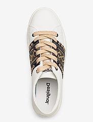 Desigual Shoes - SHOES COSMIC EXOTIC GOL - baskets basses - blanco - 3