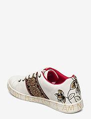 Desigual Shoes - SHOES COSMIC INDIA - låga sneakers - blanco - 2