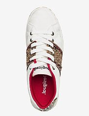 Desigual Shoes - SHOES COSMIC INDIA - låga sneakers - blanco - 3