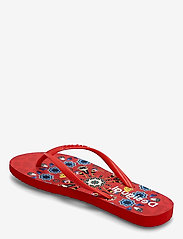 Desigual Shoes - SHOES FLIP FLOP BUTTERFL - teenslippers - carmin - 2