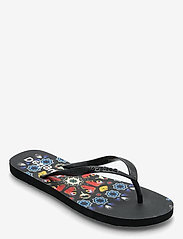 Desigual Shoes - SHOES FLIP FLOP BUTTERFL - teenslippers - negro - 0