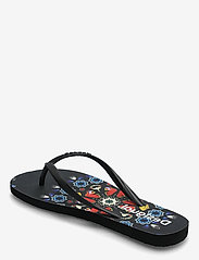 Desigual Shoes - SHOES FLIP FLOP BUTTERFL - teenslippers - negro - 2