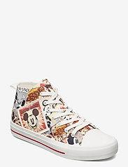 Desigual Shoes - SHOES BETA MICKEY - höga sneakers - tutti fruti - 0