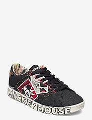 Desigual Shoes - SHOES COSMIC MICKEY DENI - låga sneakers - negro - 0