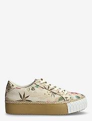 Desigual Shoes - SHOES STREET CAMOFLOWERS - låga sneakers - fog - 1