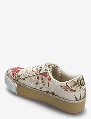 Desigual Shoes - SHOES STREET CAMOFLOWERS - låga sneakers - fog - 2