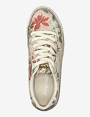 Desigual Shoes - SHOES STREET CAMOFLOWERS - låga sneakers - fog - 3