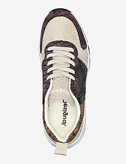 Desigual Shoes - SHOES HYDRA PACH - låga sneakers - brown stone - 3