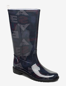 SHOES MID RAIN BOOT DESI - NEGRO