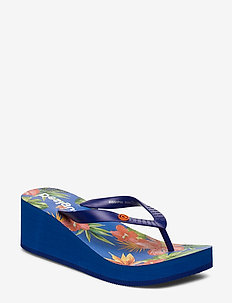 SHOES LOLA TROPICA - tongs - azul lovely