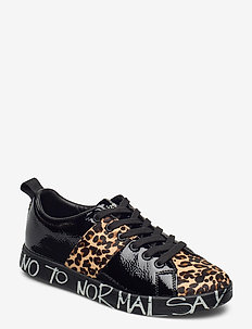 SHOES COSMIC LEOPARD - låga sneakers - negro