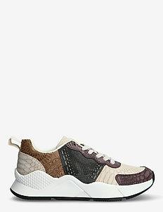 SHOES HYDRA PACH - låga sneakers - brown stone