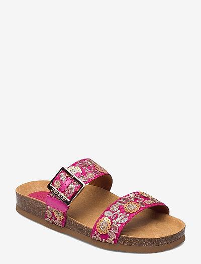 SHOES ARIES EXOTIC - platta sandaler - rosa