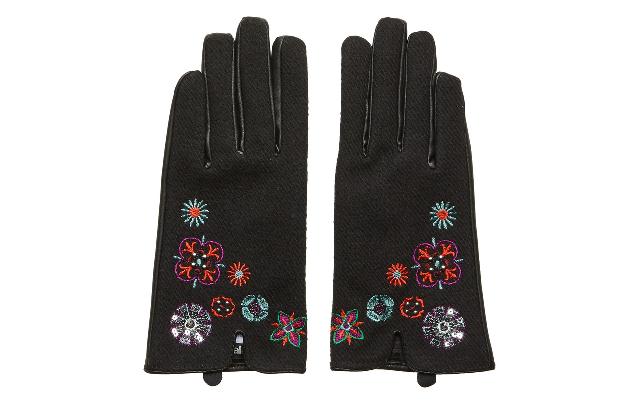 Desigual Accessories GLOVES NANIT - NEGRO