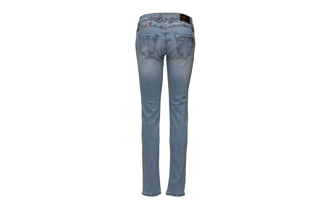 74 Light 3 22 Viscose Desigual Maãt㉠Polyester Denim Wash Coton 4ITqgC