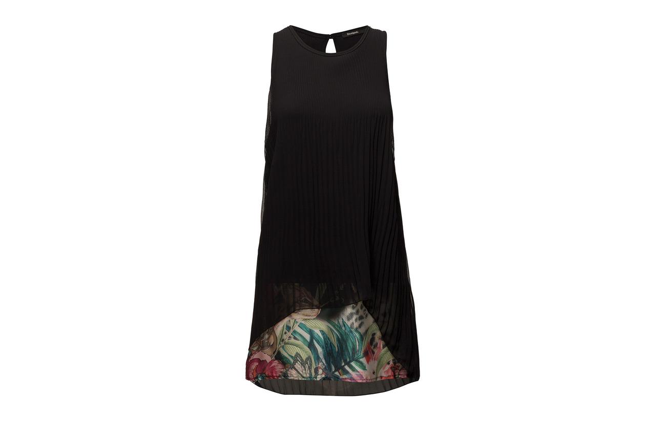 Vest Desigual 100 Polyester Miriam Negro OwwCxvpq