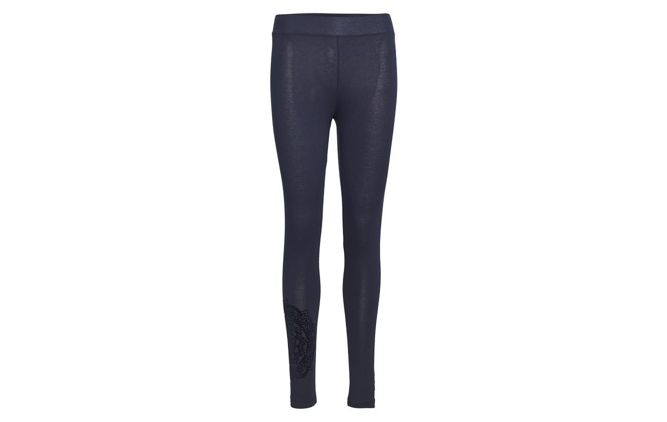 Legging Negro Coton 95 5 Nube Elastane Desigual S1qw4zR4
