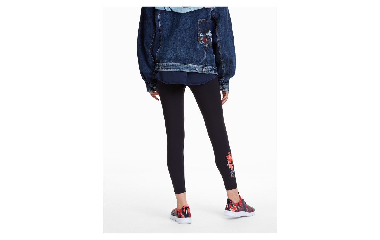13 Negro Elastane Polyester 87 Desigual Kora Legging Xxqwqp8