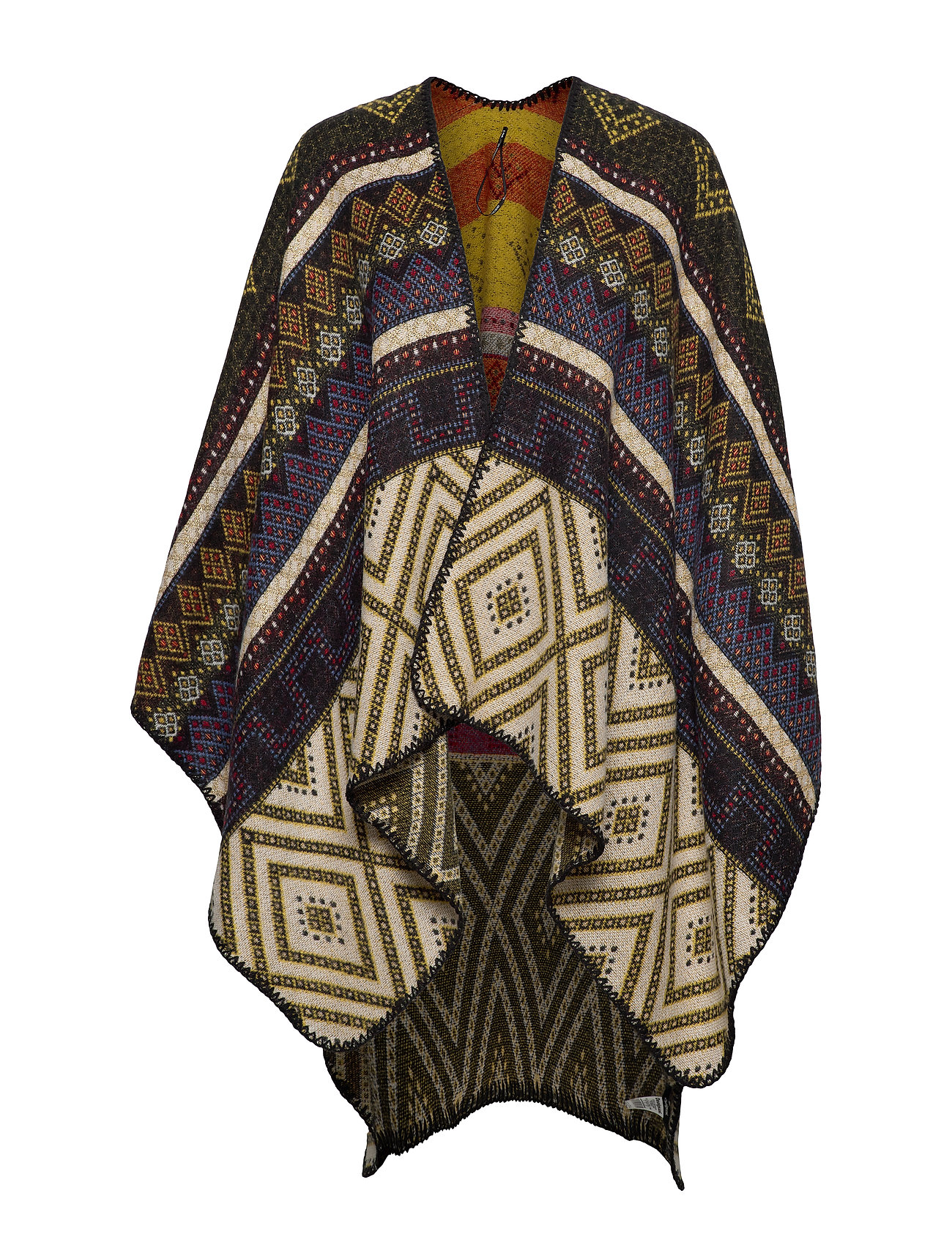 Desigual Accessories PONCHO ETHNIC - CRUDO BEIGE