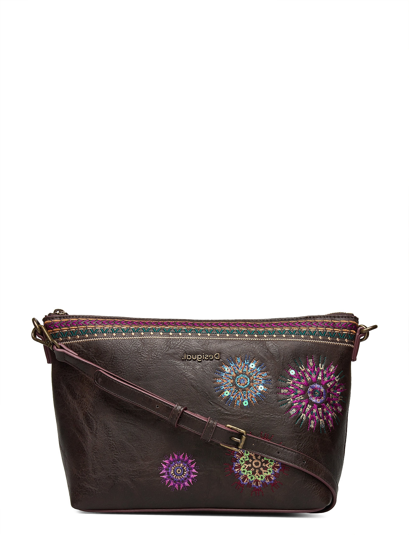 Image of Bols Astoria Cata Bags Small Shoulder Bags - Crossbody Bags Brun Desigual Accessories (3452230271)
