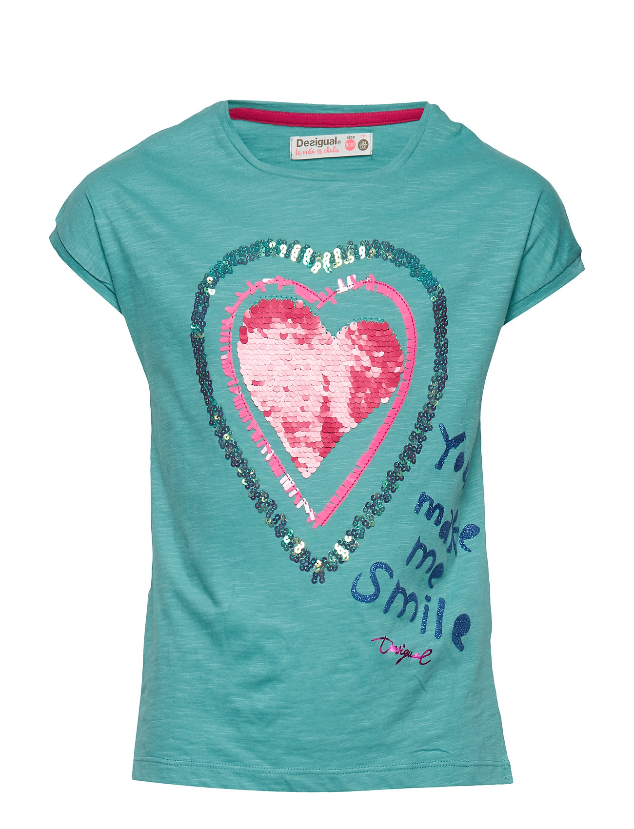 Ts Missouri T shirt Blå DESIGUAL
