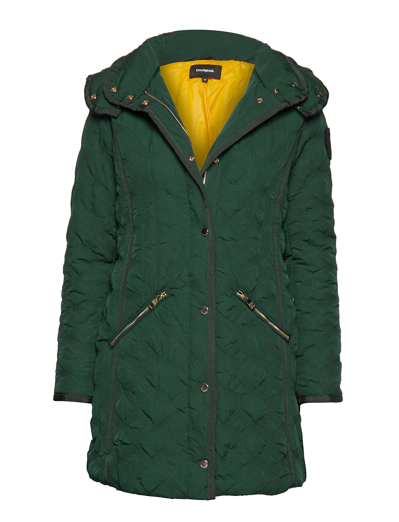 Desigual PADDED LEICESTER - EMERALD