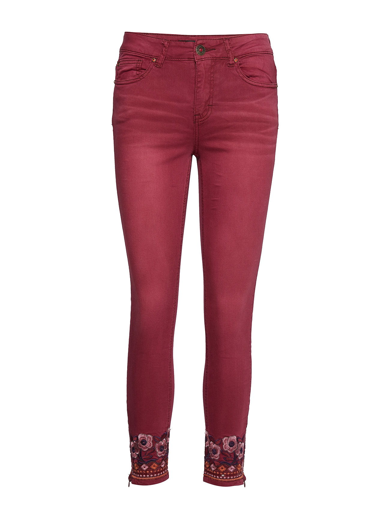 Desigual PANT MIAMI COLORS - BIKING RED