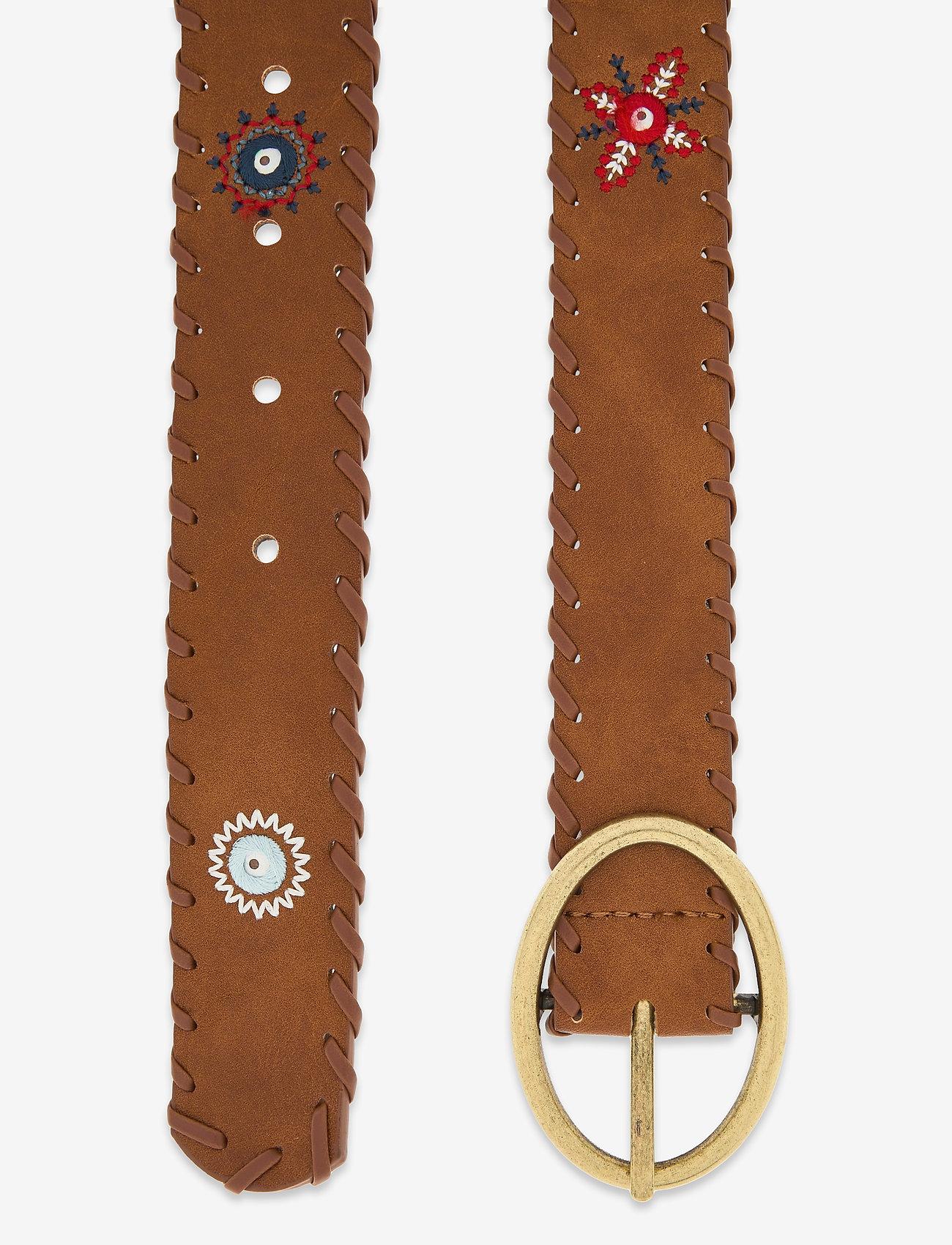 Desigual Accessories - BELT JULIETTA - skärp - camel - 1