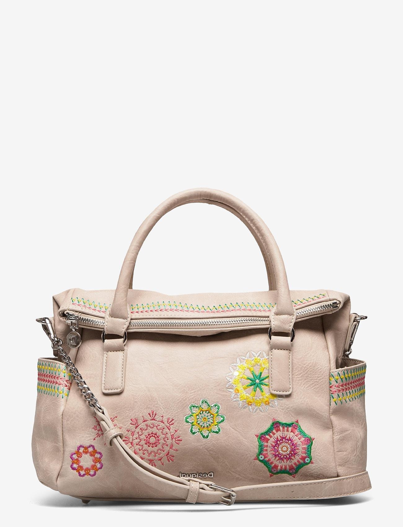 Desigual Accessories - BOLS CARLINA LOVERTY - handväskor - crema - 0