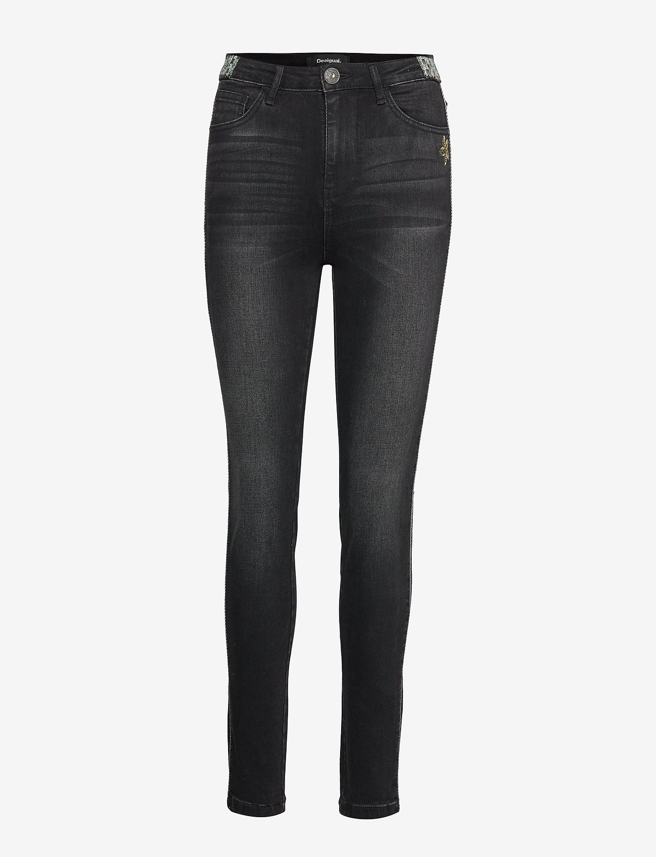 Desigual - DENIM NEW YOR - jeans skinny - denim black wash - 0