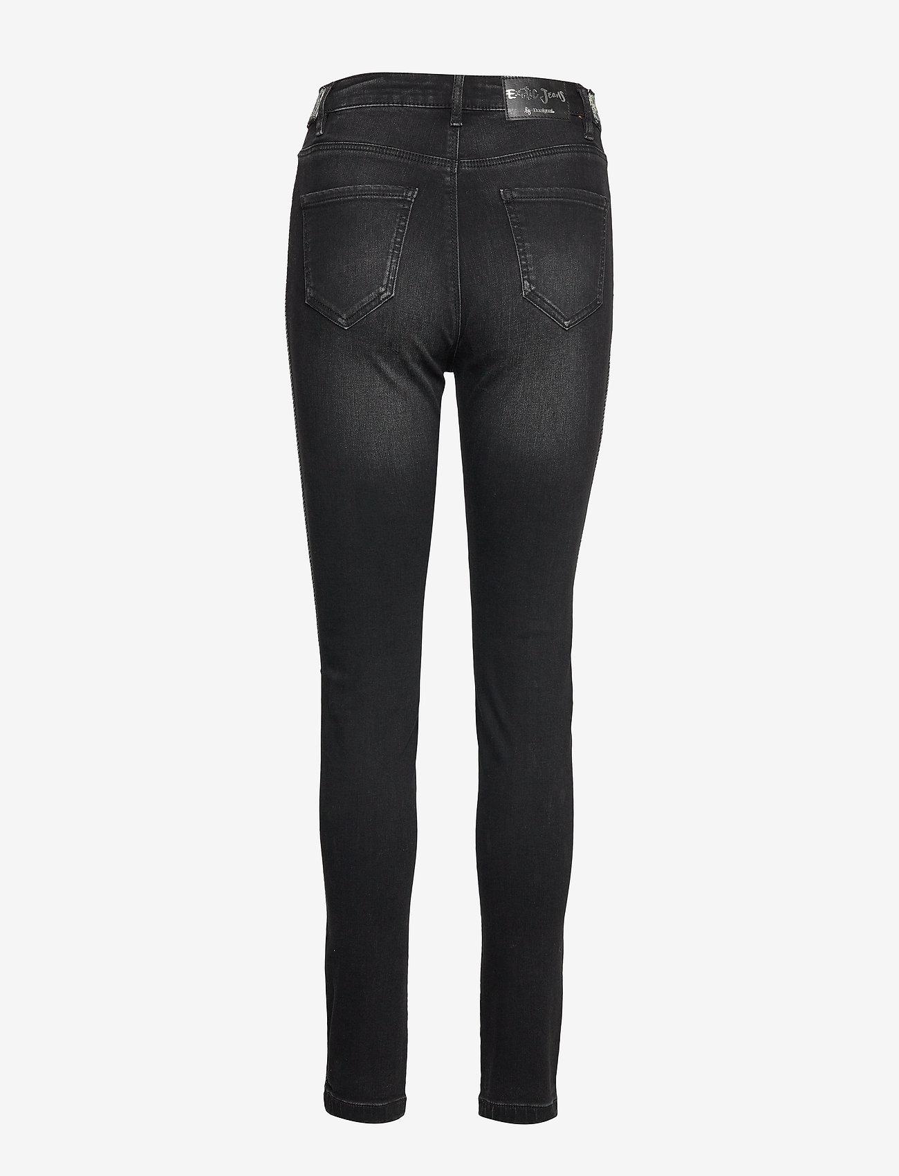 Desigual - DENIM NEW YOR - skinny jeans - denim black wash - 1