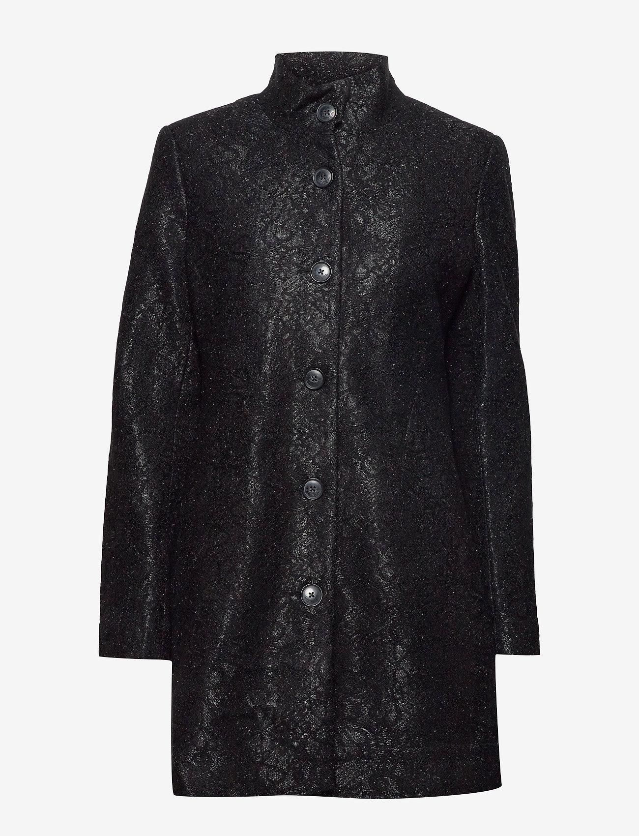 Desigual - ABRIG SIMONE - wełniane płaszcze - negro - 1