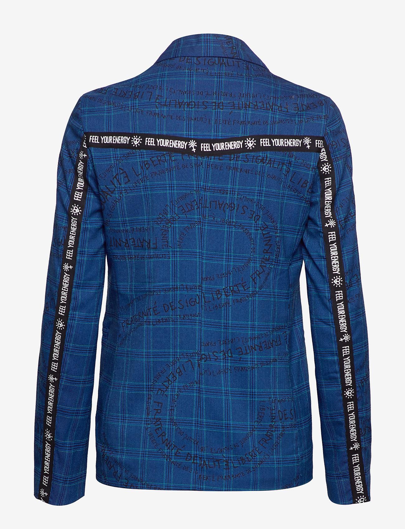 Desigual Chaq Turin - Vestes Tailleur Royal Blue