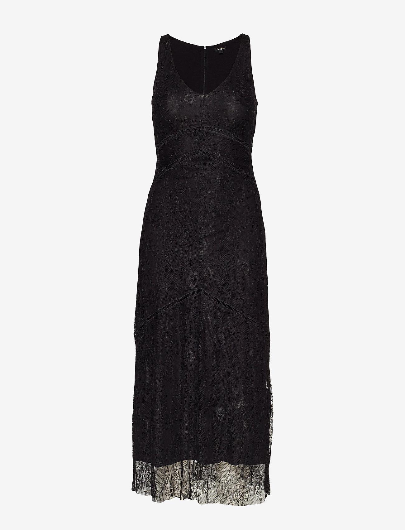 Desigual - VEST LAMAR - midi jurken - negro - 0