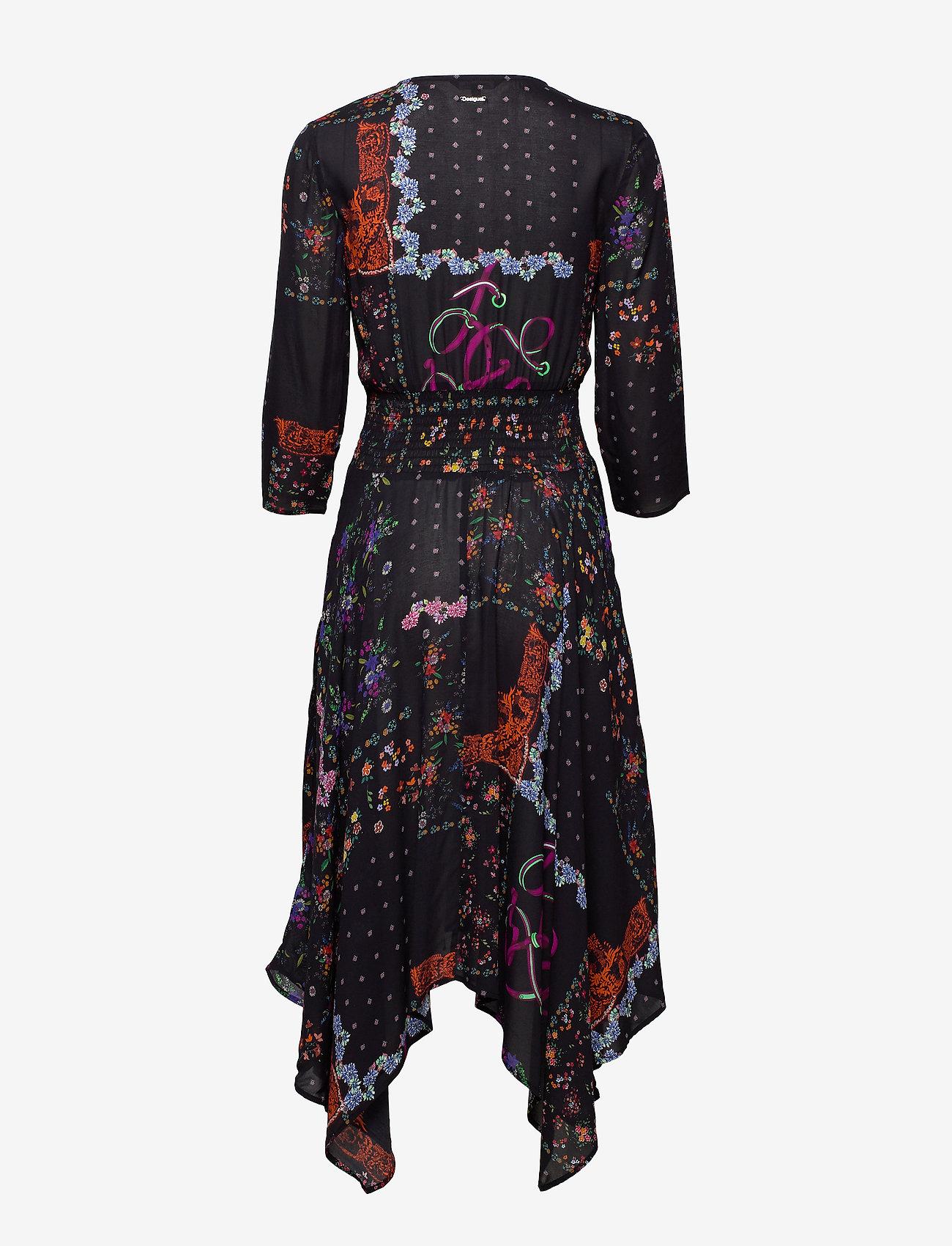 Desigual - VEST JANA - midi jurken - negro - 1