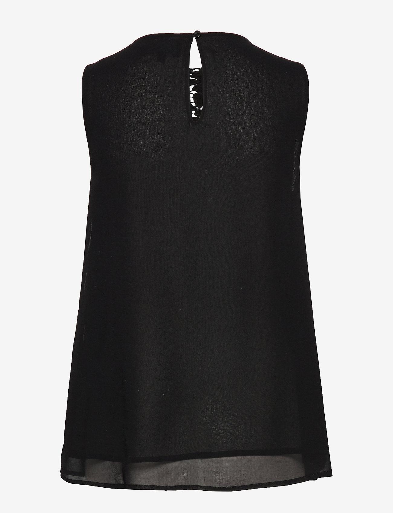 Blus Tebas (Negro) (389.35 kr) - Desigual