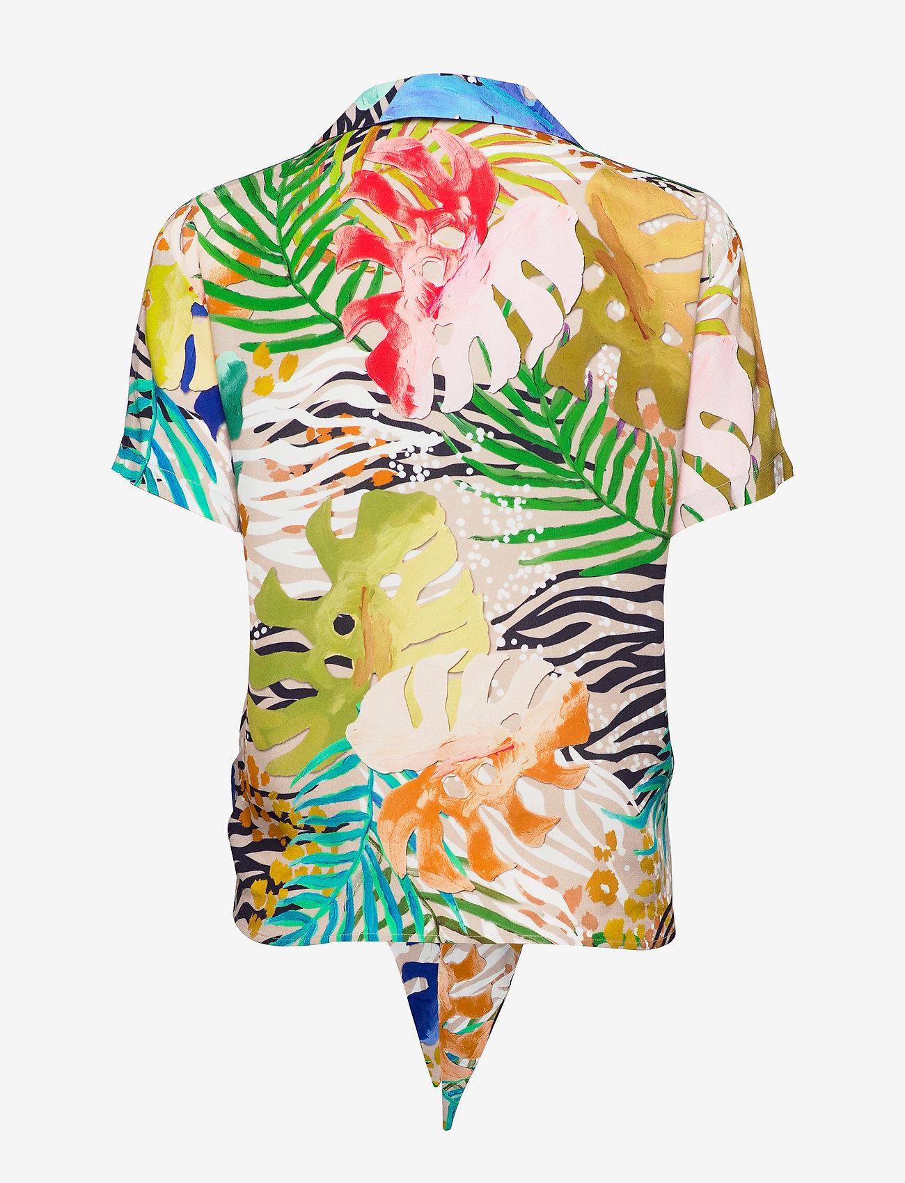 Desigual - CAM CREMONA - blouses à manches courtes - tutti fruti