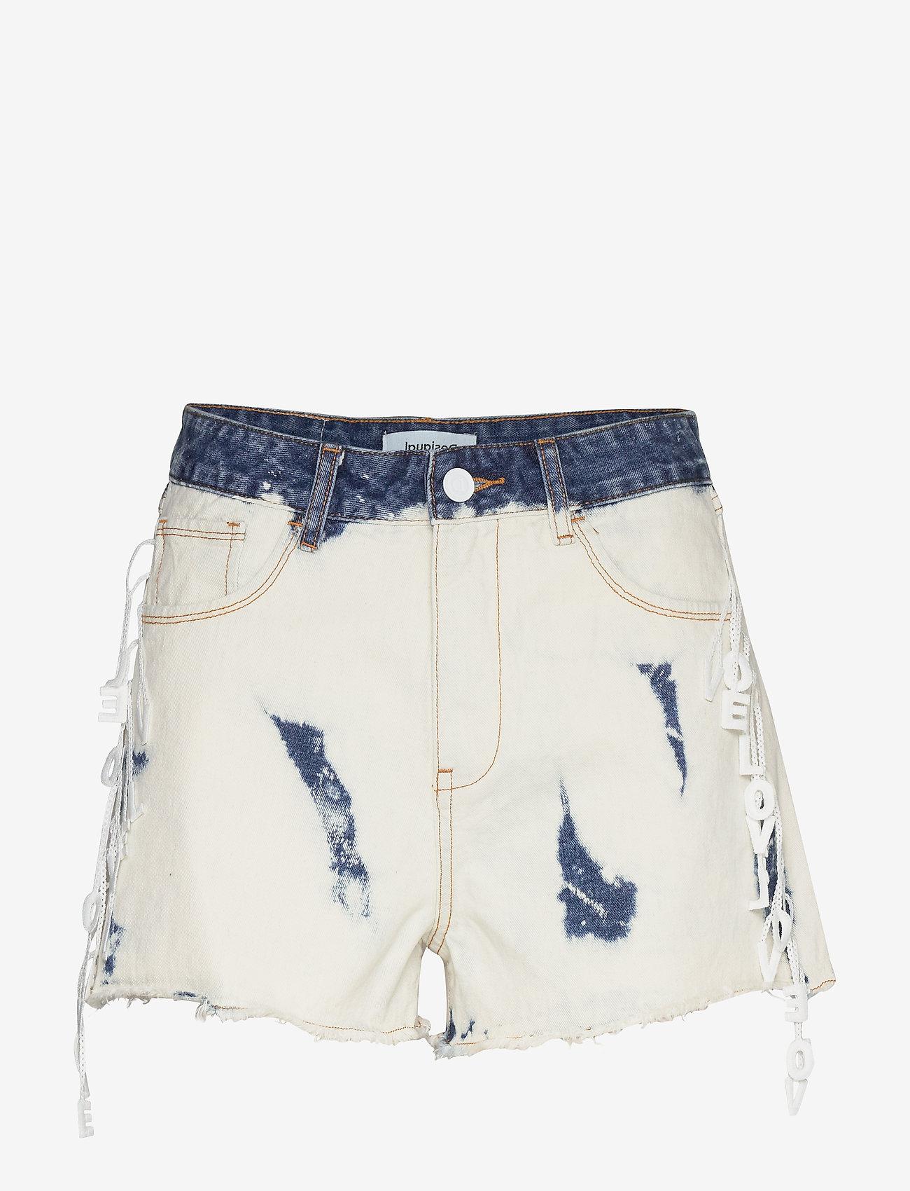 Desigual - DENIM KALGARY - short en jeans - denim bleach