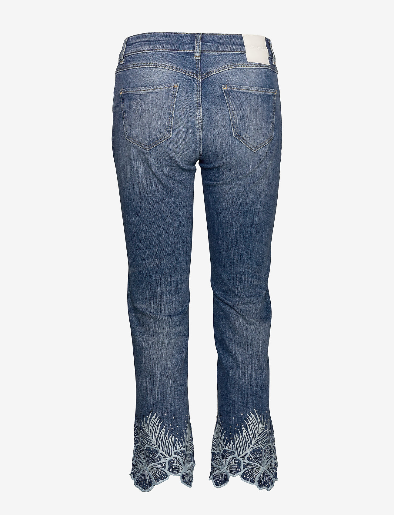 Desigual - DENIM HAWIBI - straight jeans - denim medium wash