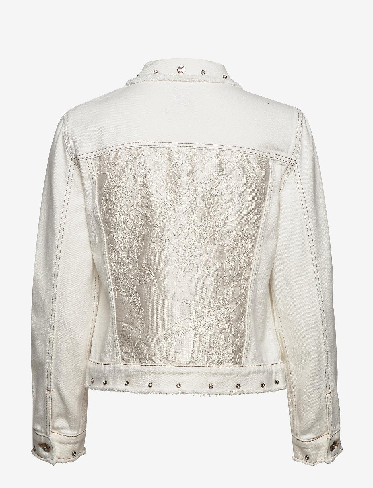 Desigual - CHAQ BARROC - vestes en jean - blanco