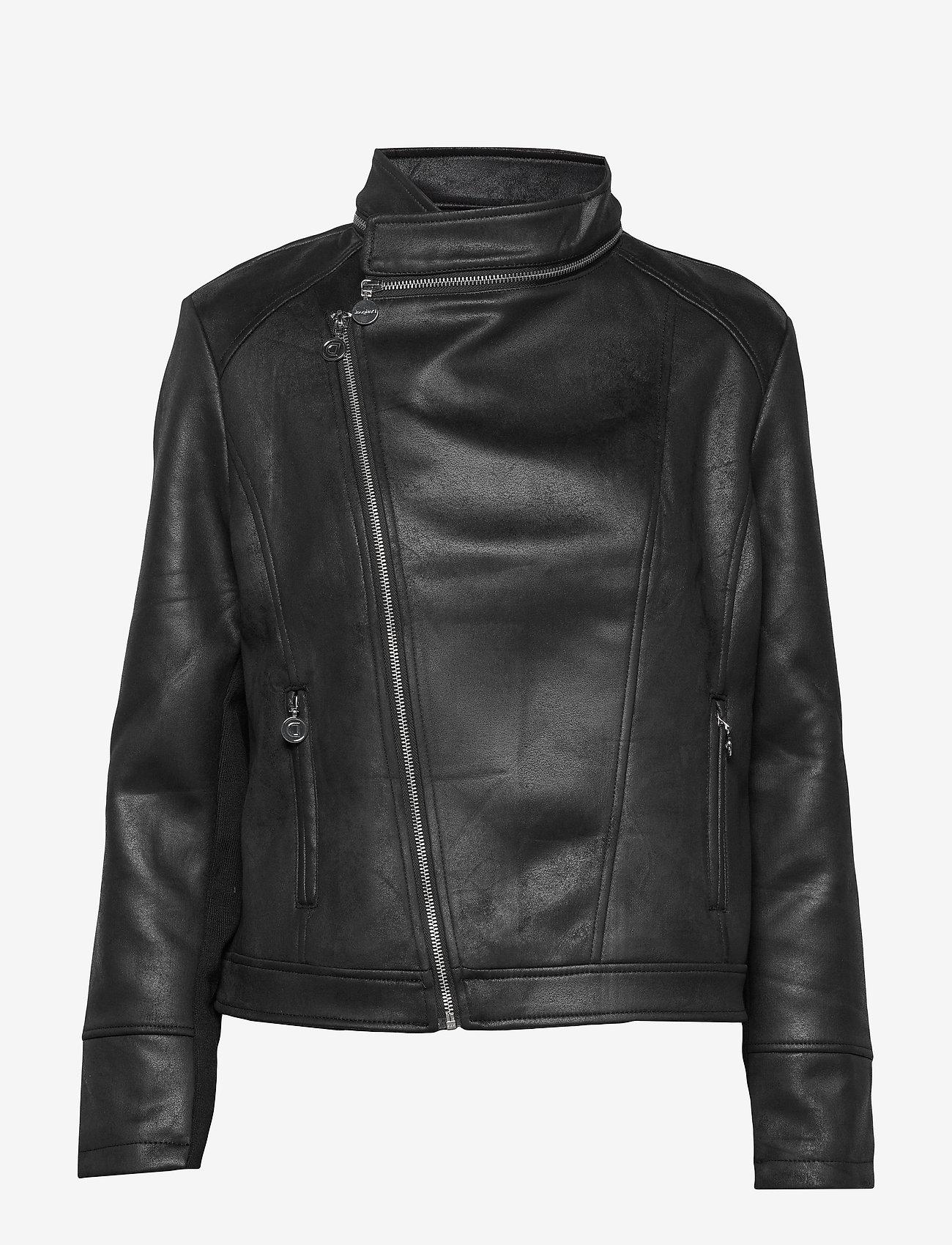 Desigual - CHAQ BROWARD - læderjakker - negro - 1