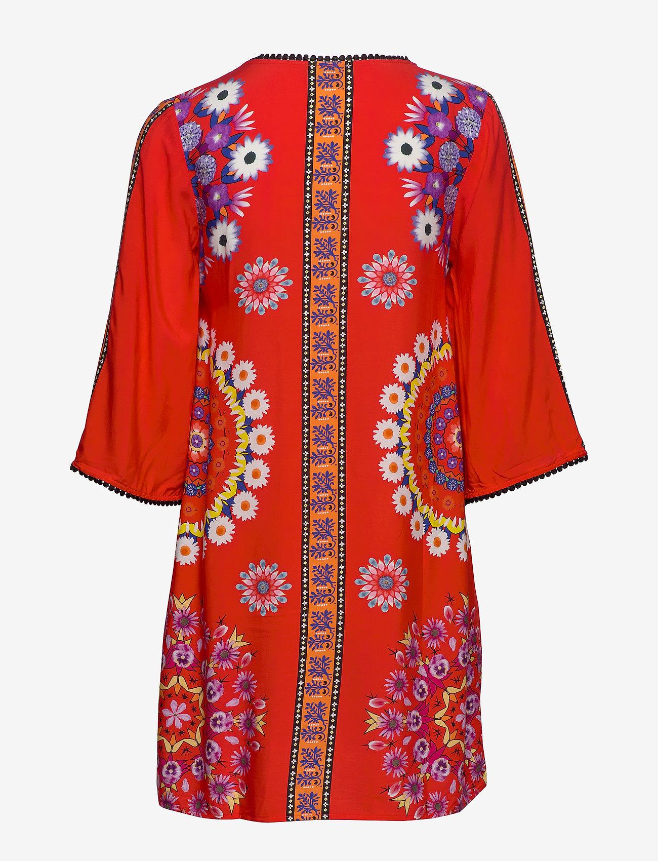 Vest Creta (Rojo Clavel) (489.30 kr) - Desigual