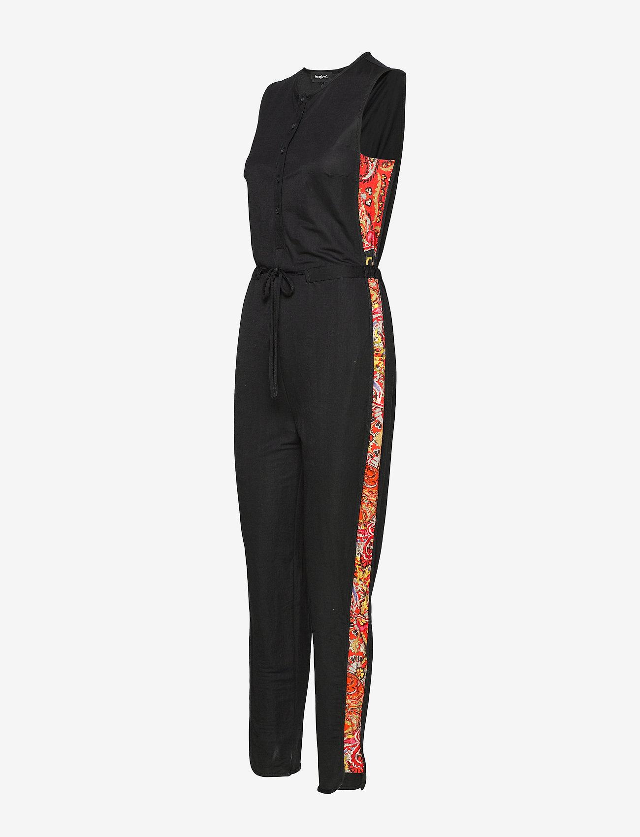 Pant Crayons (Negro) (599.50 kr) - Desigual