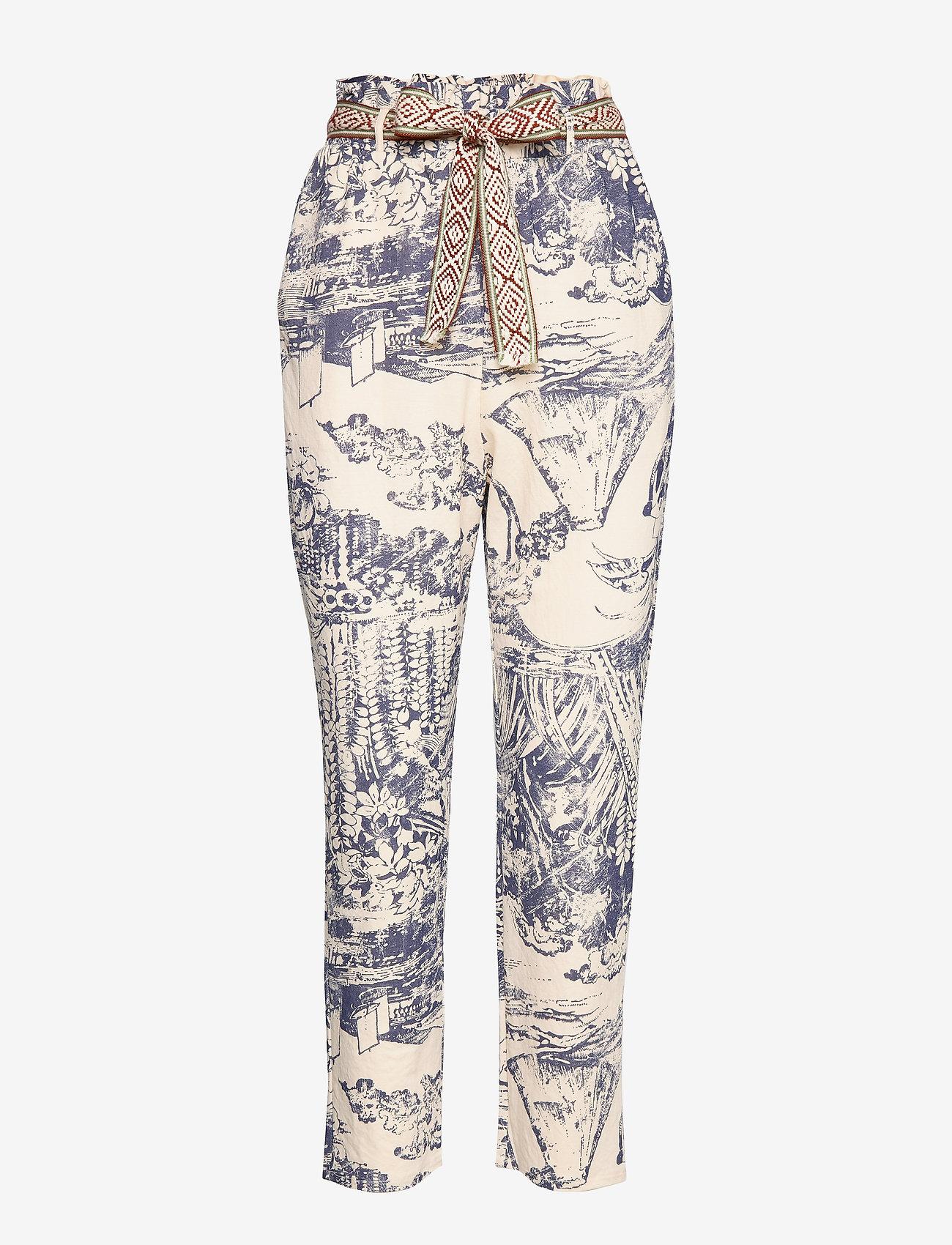 Desigual - PANT TROPICAL - pantalons droits - crudo - 0