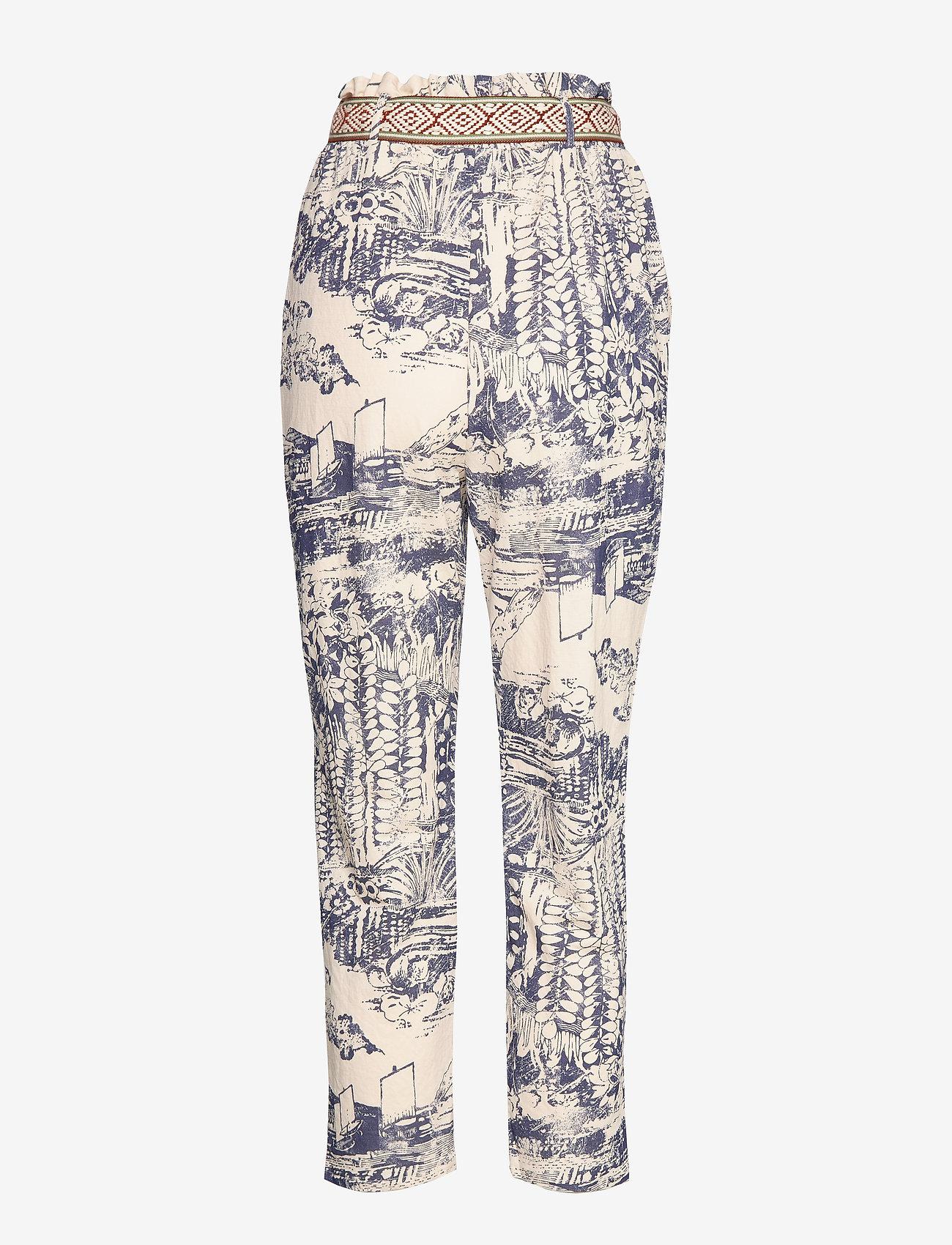 Desigual - PANT TROPICAL - pantalons droits - crudo - 1