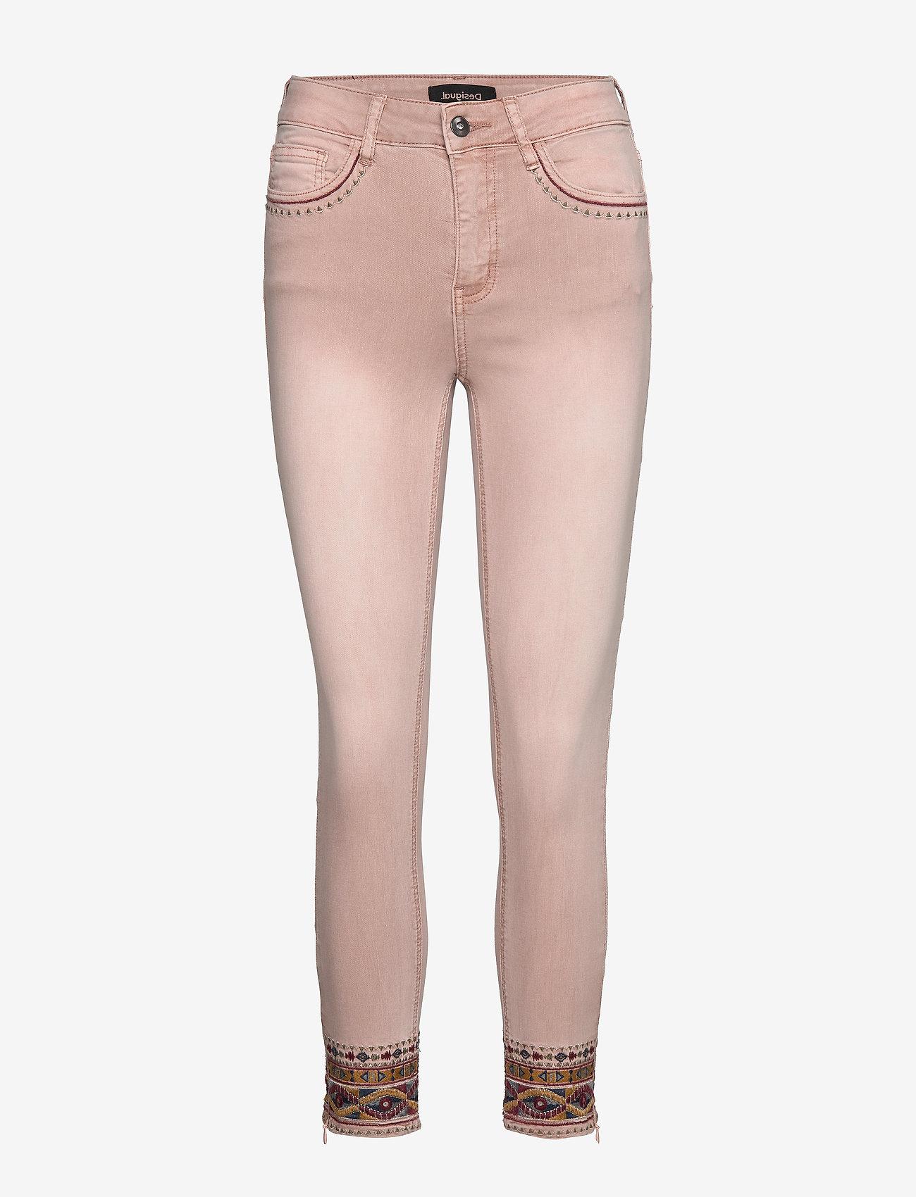 Desigual - PANT AFRI - slim jeans - rosa palo - 0